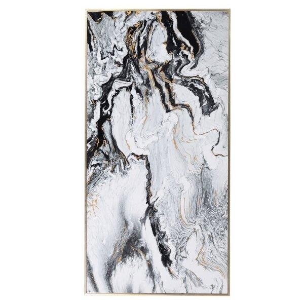 Canvas Schilderij White Marble