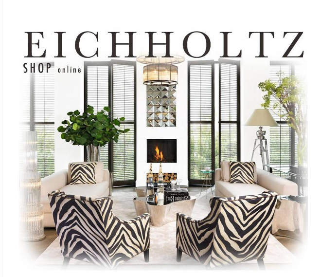 Eichholtz -Voetenbankje / Hocker Zebra - Magnifiqueliving
