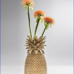 Pineapple Vase Gold